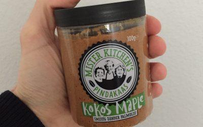 Mister Kitchen's Koskos Maple pindakaas in de Jeroen Food Review