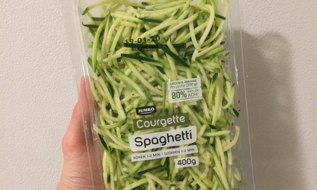 Courgetti maken voor koolhydraatarme recepten