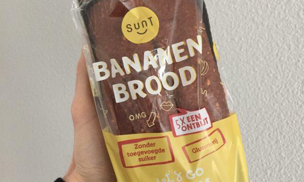 Sunt Food bananenbrood naturel in de Jeroen Food Review