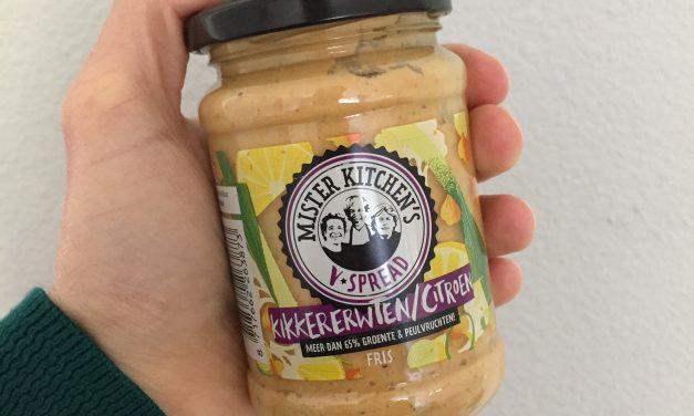 Mister Kitchen's kikkererwten/citroen V-Spread in de Jeroen Food Review