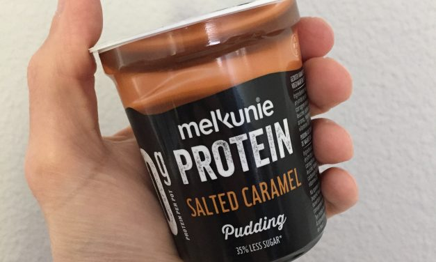 Melkunie PROTEIN pudding salted caramel in de Jeroen Food Review