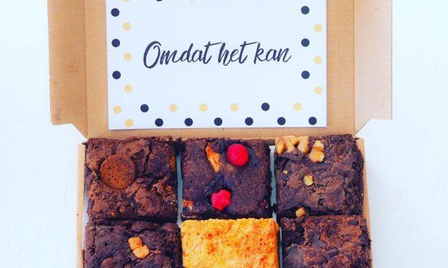 Brownies per post bestellen by Jeroen Food