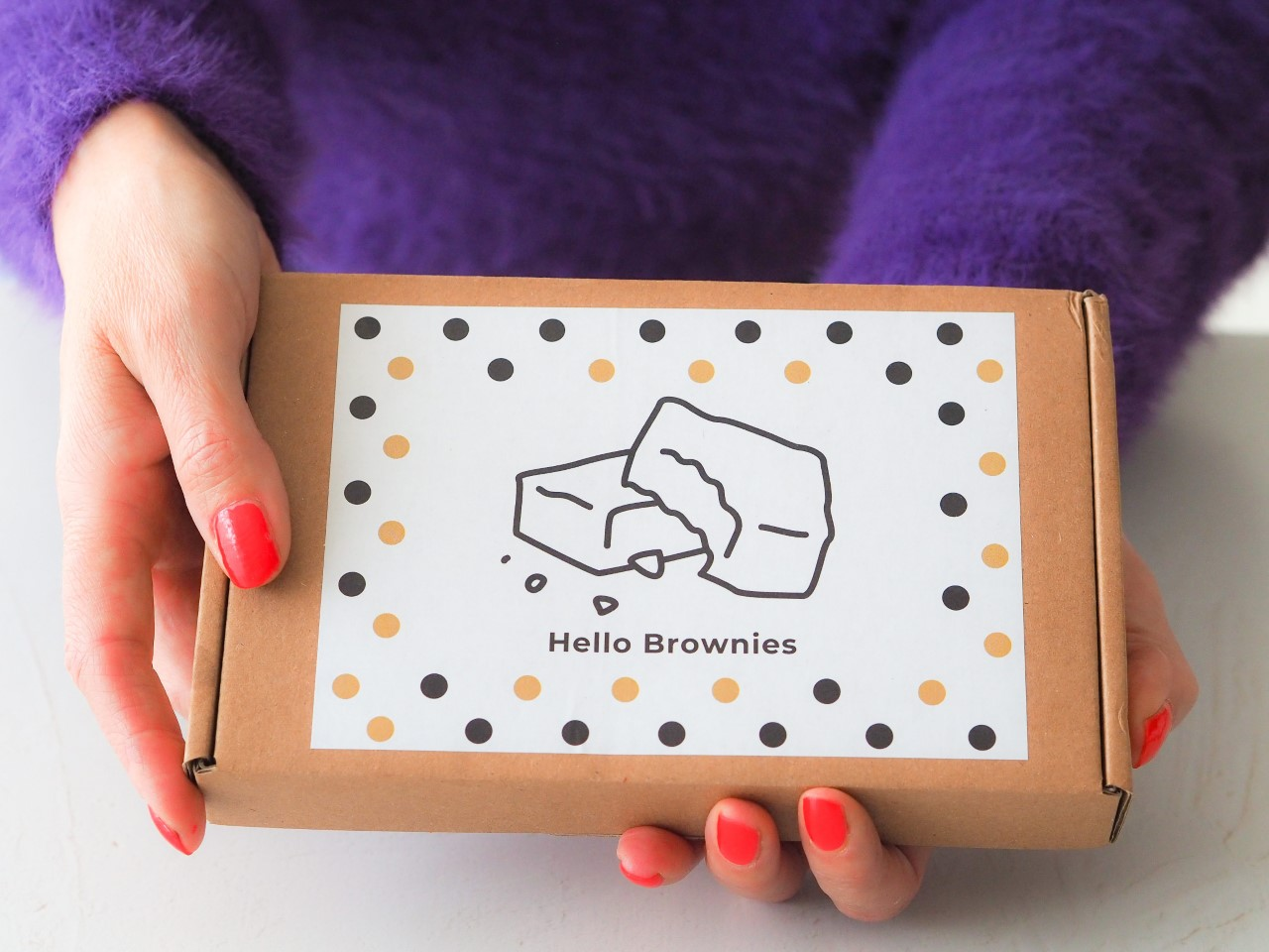 The Brownie Box by Hello Brownies